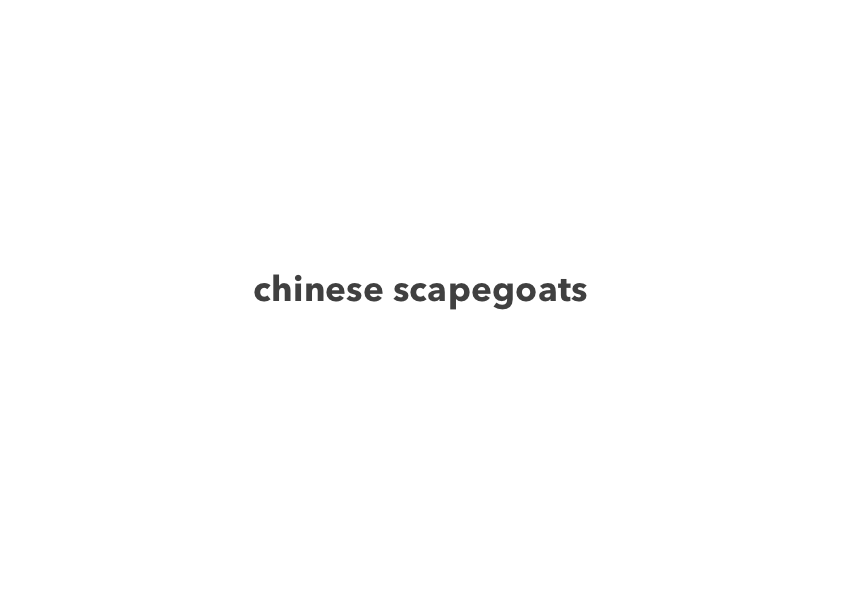 chinese-scapegoats